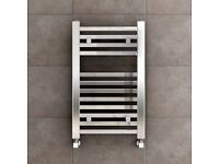 Cloakroom Square Chrome Towel Ladder Radiator 650 x400mm BNIB