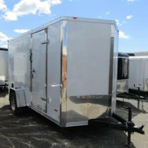 "6x10 Enclosed Cargo Trailer 6'6"", Packed With Features"