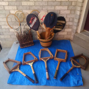 Vintage and Antique TENNIS RACQUETS/ RACKETS **SEE EACH PRICE **