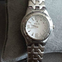Genuine Ebel e-type ladies watch stainless steel - authentic