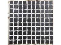 4.48m2 20x20 Mosaic Effect Nero Tiles Job Lot