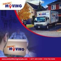 ⭐️LET'S GET MOVING⭐️-TORONTO'S AFFORDABLE MOVING COMPANY⭐️