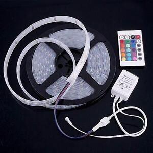 5 meters LED led strip Light Flexible Strip Waterproof + Remote
