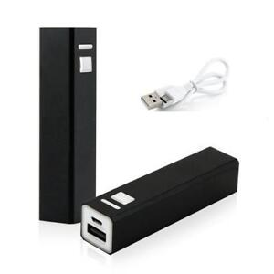 BNIB 2600mA Rechargeable Battery Power Bank
