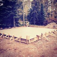 Garage Building, Concrete Forming/Pouring and Carpentry Services