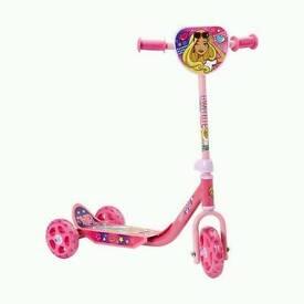Barbie tri scooter