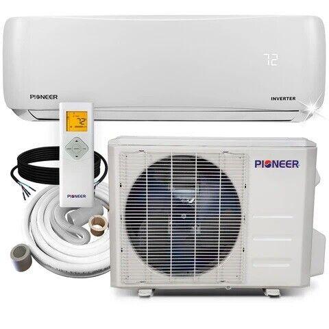 Pioneer® 9,000 BTU 18 SEER 230V Ductless Mini-Split Air Conditioner Heat Pump