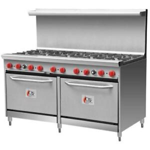 Cooking Performance Group 60-CPGV-10B-S26 10 Burner Gas Range *RESTAURANT EQUIPMENT PARTS SMALLWARES HOODS AND MORE*