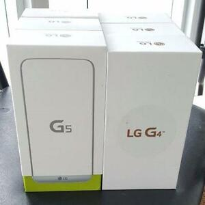 Brand New, Sealed Box, Unlocked LG G4, LG G5, Wind+Worldwide Networks, Free Tempered Glass Or Case