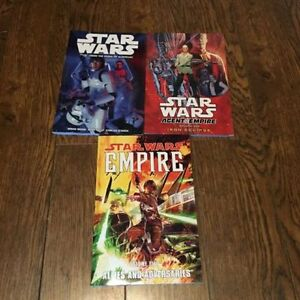 3 Star Wars Graphic Novels