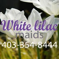 White Lilac Maids -Cranston Mahogany South Calgary