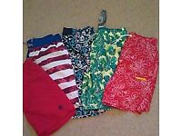Boys shorts aged 11 to 12 years