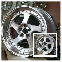 18x8.5 18x9.5 5x112 Machine Face TMB Style(4Rims)Ph 905 673 2828
