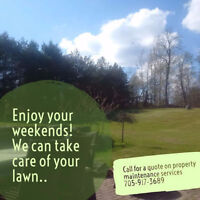 Grass Cutting and Landscaping Services - Kawartha Lakes