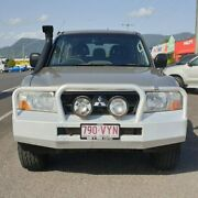 2005 Mitsubishi Pajero NP MY05 GLX Gold 5 Speed Manual Wagon Bungalow Cairns City Preview