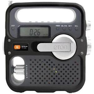 NEW Wind River self-powered am/fm weather band alert radio CAMPING