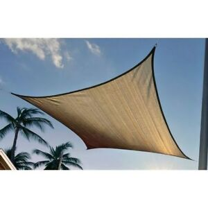 Voile d'ombrage / Sun Shade Sail 16' x 16'