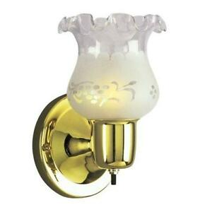 Galaxy Lighting 12302PB/FR Single Bracket Wall Sconce, Polished