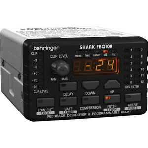 Behringer SHARK FBQ100 Automatic Feedback Destroyer*BEST PRICE