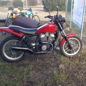 1984 HONDA VT500FT ASCOT PROJECT BIKE
