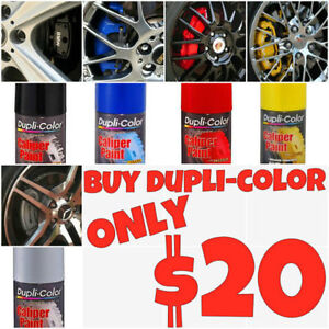 Dupli-Color Caliper paint ON SALE -Red-Blue-Yellow-Silver-Black