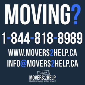 Moving? - Hire the best movers! - 1-844-818-8989 - Call!