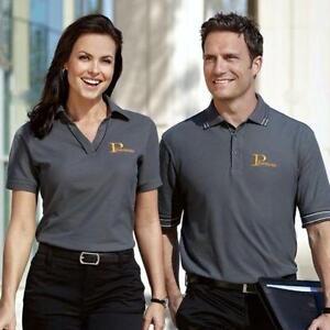 Custom Polo Shirts, Printed On-Site