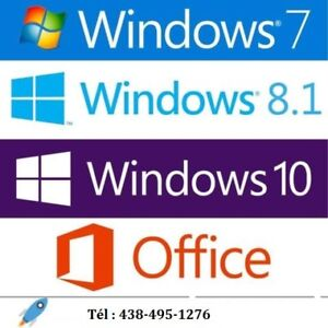 Windows 10 -Windows 7-Office 2010/2013/2016