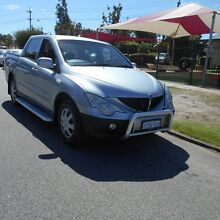 2007 Ssangyong Actyon Sports 100 Series Sports 4 Speed Automatic Utility Mount Hawthorn Vincent Area Preview