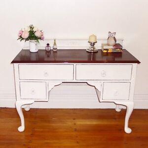 Shabby chic vintage dresser desk dressing table Cremorne Point North Sydney Area Preview