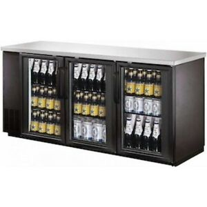 BACK BAR & BEER FRIDGE GLASS DOOR <--AMAZING $$$