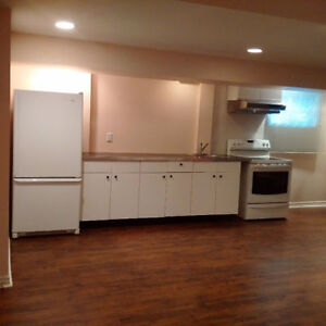 2 bedroom, newly renovated, basement apartment