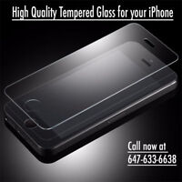 Tempered Glass Screen Protector for iPhone 5/5S/5C/6/6S/6+