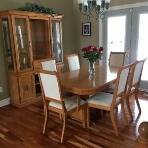 oak dining set Peterborough Peterborough Area image 1