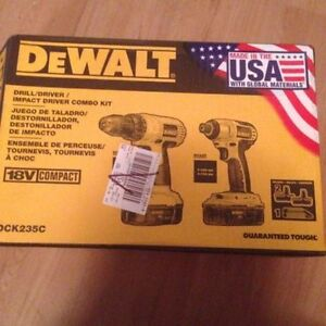 18V Drill and Impact Driver Combo Kit