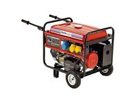 Clark Generator 5.5kVA max. output at 230V only 2 years old