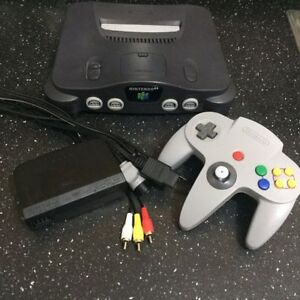 NINTENDO 64: Includes 1 Controller, Rumble Pack+ Wow!!