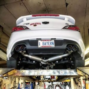 Hyundai Genesis Coupe Custom Dual Exhaust systems 2.0; 3.8