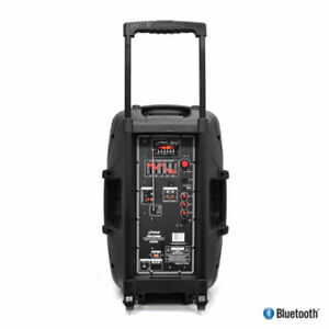 "PYLE PPHP122BMU 12"" 800 Watt Portable Bluetooth Rechargeable Bat"
