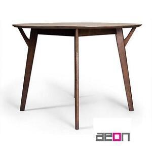 NEW* AEON DANTE DINING TABLE SIMPLY  SCANDINAVIAN DANTE DINING TABLE IN WALNUT 105816397