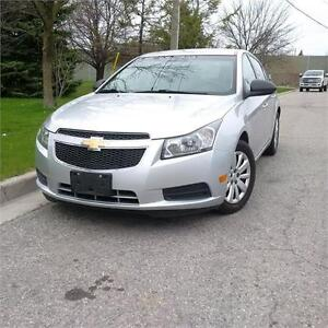 2011 Chevrolet Cruze LS+ w/1SB. No accidents. Certified.