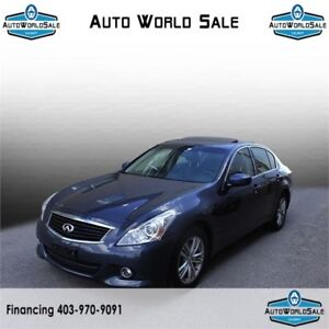 2013 INFINITI G37x|BACK UP CAMERA|SUNROOF