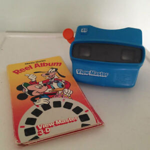 Vintage View Master and Reels