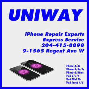 UNIWAY REGENT iPhone iPad iPod Touch Repairs Services