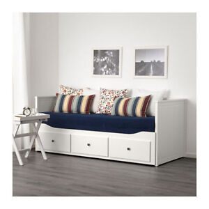 IKEA Single Day Bed (Pulls out into double bed) With 3 drawers