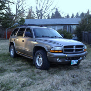 2000 Dodge Durango SLT SUV, 4x4, Command Start, Leather, AirCond