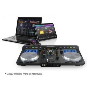 Showroom Display Model only Hercules Universal DJ Controller w/ Bluetooth - works with - Android, iOS, PC and Macbook