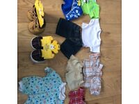 Build a Bear Clothes, shoes and mini bear with outfit
