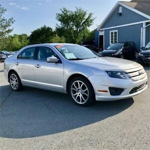 2012 Ford Fusion SEL  AWD w/bluetooth/heated seats/leather