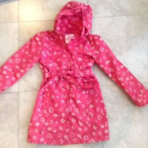 MEXX girl's Rain Jacket with detachable hood Size 12